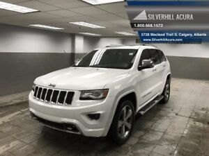2014 Jeep Grand Cherokee Overland V8 *2 Sets of Tires,Remote sta