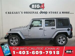2016 Jeep Wrangler Unlimited SAHARA,