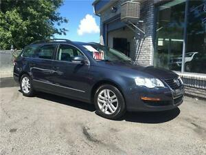 VOLKSWAGEN PASSAT WAGON W/LEATHER 2007