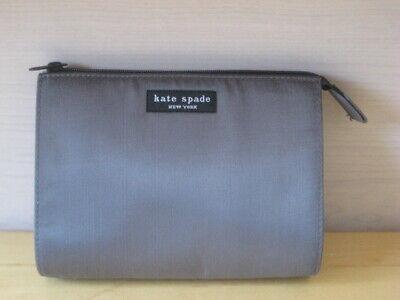 Kate Spade  Small  Gray Cosmetic Bag  6.5 x 5