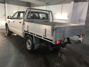 2012 Ford Ranger PX XL 2.2 (4x4) White 6 Speed Manual Crew Cab Chassis Beresfield Newcastle Area Preview