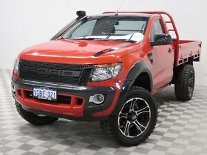 2013 Ford Ranger PX XL 3.2 (4x4) Wildtrak 6 Speed Manual Cab Chassis Jandakot Cockburn Area Preview