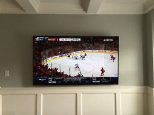 Residential & commercial TV wall mounting service@416-878-8556
