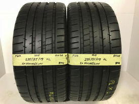 F407 2X 235/35/19 91Y ZR MICHELIN PILOT SUPER SPORT XL 2X8MM TREAD