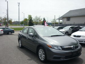 2012 Honda Civic EX Sedan,with 2 years  Lubrico warranty