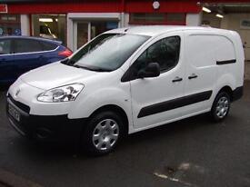 2013 Peugeot Partner 1.6HDi 92 Crew Cab Van S L2 Diesel LWB 5 Seater Seat Mpv