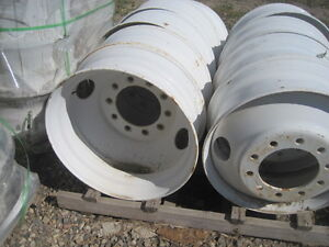 8.25x24.5 rims fits 11.00x24.5 tire  8.25x22.5 aluminum wheel