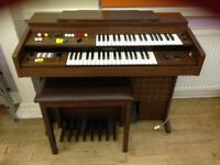 Electric organ for sale.