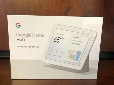 NEW Google Nest Hub with Built-In Google Assistant, Chalk(GA00516-US)