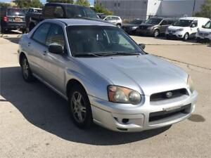 2005 Subaru Impreza RS 2.5 Loaded Safety Certified