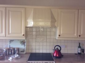 Kitchen doors, handles and worktop