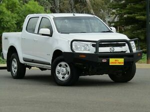 2013 Holden Colorado RG MY13 LX Crew Cab White 6 Speed Sports Automatic Utility Strathalbyn Alexandrina Area Preview