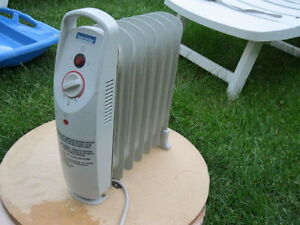 oil filled radiator heater small Lancaster very good for small r