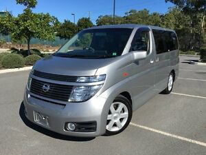 2003 Nissan Elgrand Highway Star Low Kms Silver 5 Speed Automatic Wagon Arundel Gold Coast City Preview