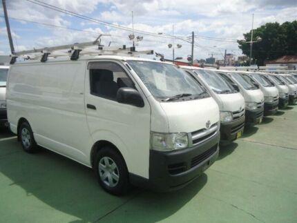 2006 Toyota Hiace TRH201R LWB White 4 Speed Automatic Van