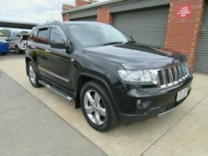 2012 Jeep Grand Cherokee WK MY12 Overland (4x4) Black 5 Speed Automatic Wagon Gilles Plains Port Adelaide Area Preview