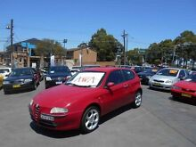 2002 Alfa Romeo 147 2.0 Twin Spark Red 5 Speed Manual Hatchback Mount Lewis Bankstown Area Preview