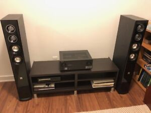 Home Theater - Audio - Speakers (2) and Receiver for SALE!