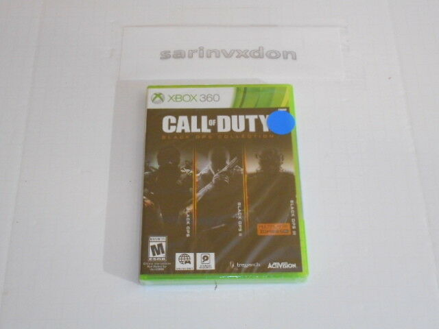 Call of Duty Black Ops Collection - Xbox 360 Standard Editio