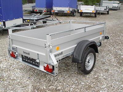ALU Pkw 2m Anhänger NEU sehr stabil 750kg Rohrdeichsel für Haus und Hof