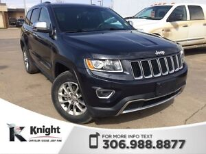 2014 Jeep Grand Cherokee Limited *PST PAID - SUNROOF*