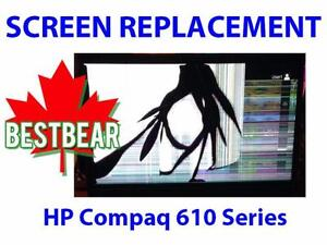 Screen Replacment for HP Compaq 610 Series Laptop
