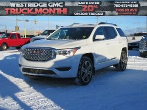 2018 GMC Acadia Denali. Text 780-872-4598 for more information!