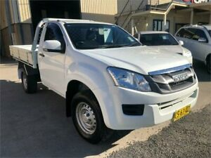 2016 Isuzu D-MAX MY15 SX High Ride White Sports Automatic Cab Chassis Greystanes Parramatta Area Preview