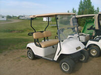 2005  and up to2010 easy go electric golf carts