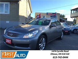 2007 Infiniti G35x Luxury - All Wheel Drive - NO ACCIDENTS!