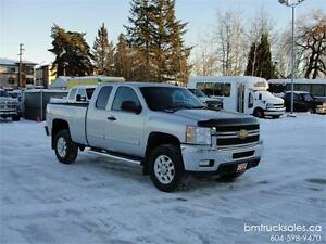 2013 CHEVROLET SILVERADO 2500HD LT EXT CAB SHORT BOX 4X4