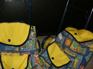 Back Pack with 2 Wheeled Towing Cart. REDUCED! Regina Regina Area image 1