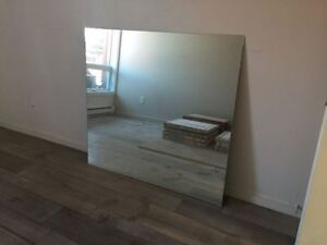 """Large Mirror / Grand miroir 49"""" by 46"""""""