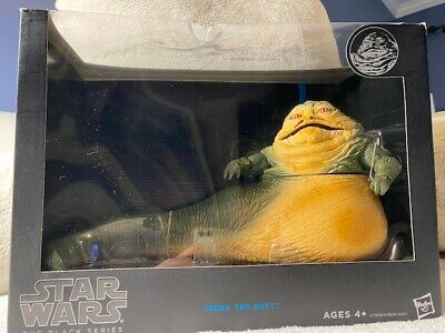 """Star Wars The Black Series Blue Stripe JABBA THE HUTT 11"""" Deluxe New Sealed 2014"""