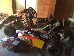 2013 CRG LH2 Rotax TAG 125cc Go Kart Tarragindi Brisbane South West Preview