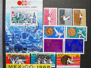 International Stamps, Olympics