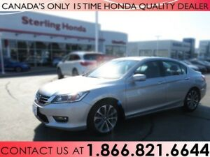 2015 Honda Accord Sedan SPORT | 1 OWNER | NO ACCIDENTS