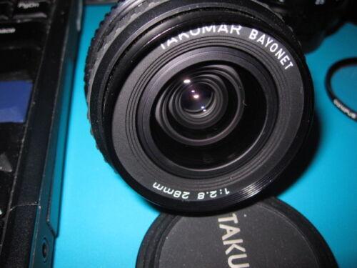 Pentax Takumar 28mm F/2.8 Manual Focus Lens