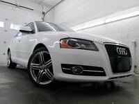 2011 Audi A3 2.0T Premium BLANC CUIR TOIT PANOR MAGS 18 96,000KM