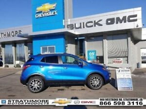 2018 Buick Encore Sport Touring-Turbo-Sunroof-Nav-Leather Heated