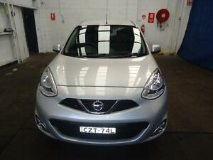 2015 Nissan Micra K13 MY13 TI Silver 4 Speed Automatic Hatchback Cardiff Lake Macquarie Area Preview