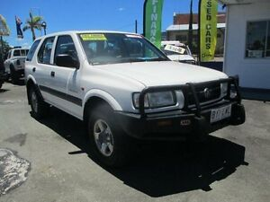 2000 Holden Frontera MX MY2000.5 White 5 Speed Manual Wagon Nambour Maroochydore Area Preview