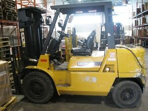 cat pneumatic forklift