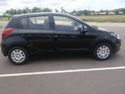 2013 Hyundai i20 PB MY14 Active Black 4 Speed Automatic Hatchback Gray Palmerston Area Preview
