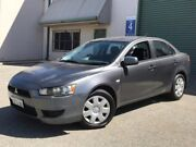 2007 Mitsubishi Lancer CJ MY08 ES Grey 6 Speed Constant Variable Sedan Welshpool Canning Area Preview