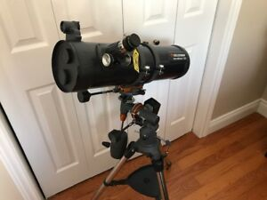Telescope: Celestron Astromaster 130EQ with Motorized Drive