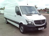 Mercedes-Benz Sprinter 313 LWB H/R EURO 5 High Roof Van DIESEL MANUAL (2015)