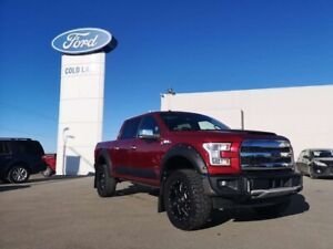 2017 Ford F-150 LARIAT CHROME APPEARANCE WITH BODY KIT LIFT, MOO