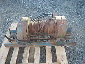 Ramsey Hydraulic Winch