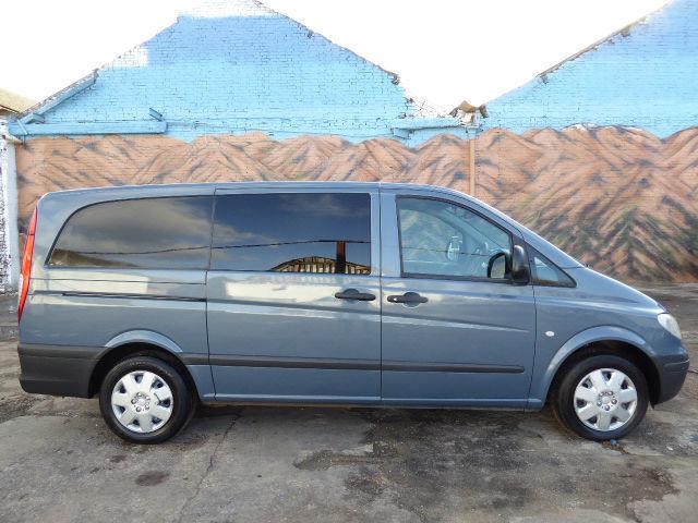 * No VAT * Mercedes-Benz Vito 2.1TD Comfort - Long auto Dualiner 115CDI